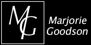 Marjorie Goodson: In The Act Logo